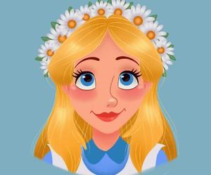disney, alice, and princess image