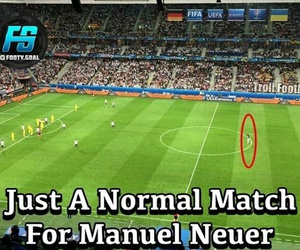 football and manuel neuer image