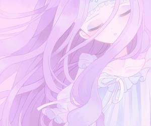 anime, baby girl, and cartoon image