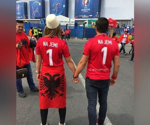 albanian, beauty, and fans image