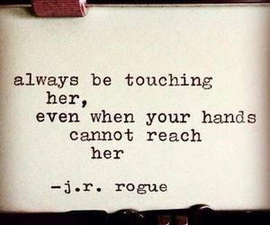 quotes and hands image