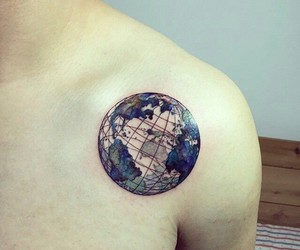 tattoo earth image