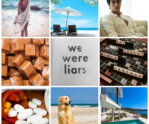 Collage, we were liars, and elochart image