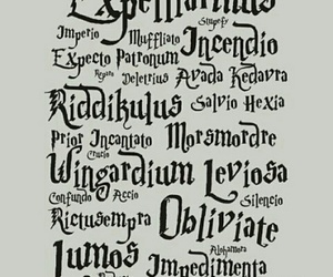 harry potter and spells image