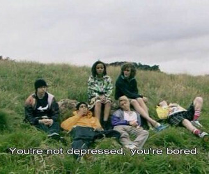 skins, bored, and depressed image
