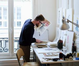 designer, ideas, and man image