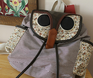 owl, bag, and backpack image