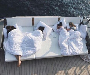 friends, goals, and sleep image
