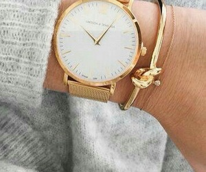 beauty, bracelet, and watch image