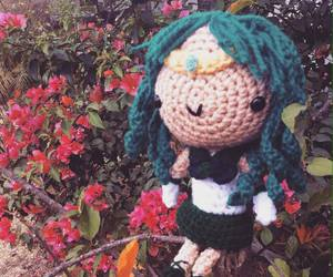 amigurumi, crochet, and yarn image