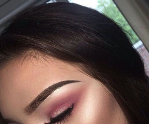 eyebrows, highlight, and pink image
