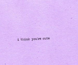 cute, quotes, and purple image