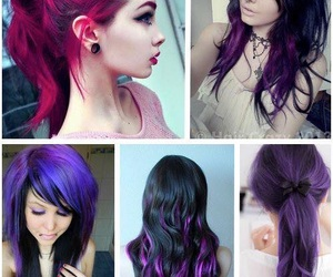 cheveux, couleurs, and colorations image
