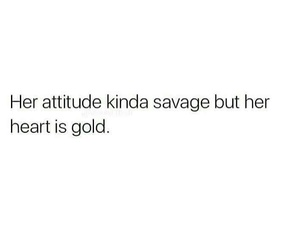 quotes, savage, and gold image