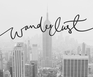 wanderlust, travel, and black and white image
