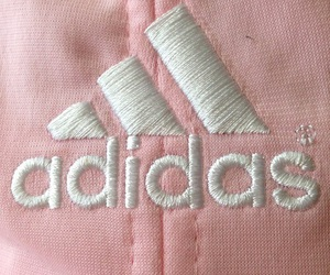 pink, adidas, and grunge image