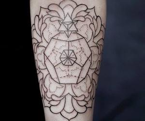 tattoo, grunge, and arm image