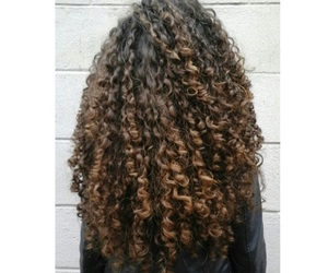 curls, girl, and goals image