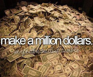 dollar, money, and before i die image