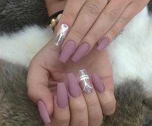 nails, makeup, and nail art image