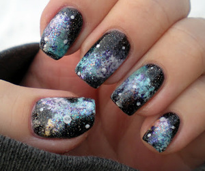 nails and galaxy image