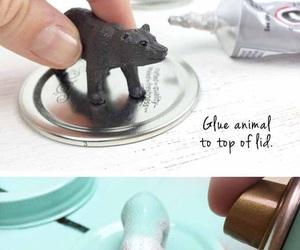 animal, crafts, and diy image