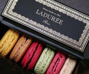 laduree, food, and macarons image