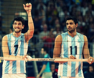 volleyball, argentina, and conte image