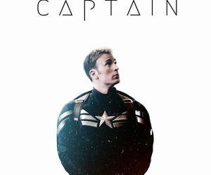 captain america, steve rogers, and chris evans image