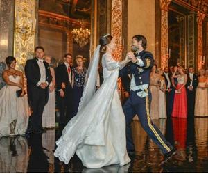 mariage, prince, and princesses image