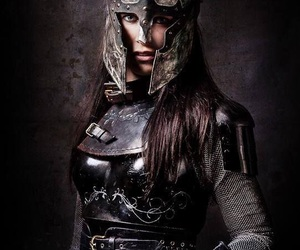 warrior, girl, and photography image