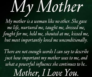 it, ❤, and if you love your mother image