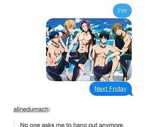 texts, anime, and free image