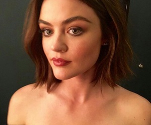 makeup, lucy hale, and aria montgomery image