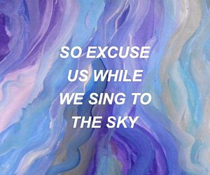 aesthetic, twenty one pilots, and Lyrics image