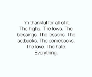 quotes and thankful image