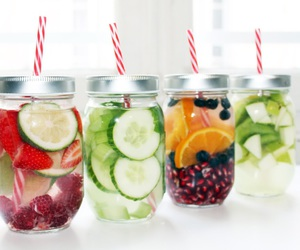 drinks, fitness, and food image