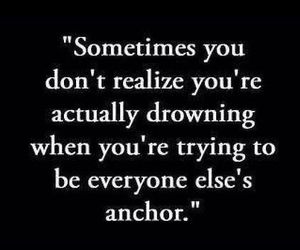 quotes, anchor, and drowning image