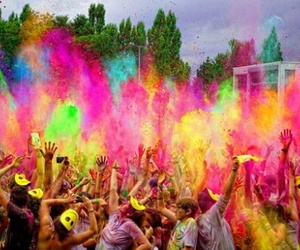 amazing, ♥, and color festival image