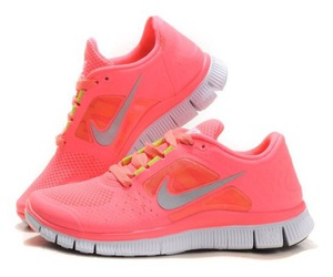 pink, sneakers, and jogging shoes image