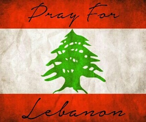 sad, pray for the world, and pray for lebanon image