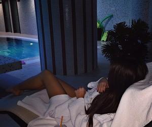 pool, luxury, and spa image