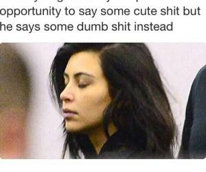 funny, lol, and kim kardashian image