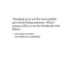 broken, empty, and heartbreak image