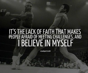 believe, muhammad ali, and quote image