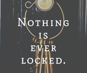 key, locked, and quotes image