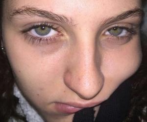 eyes, hearder, and girl image