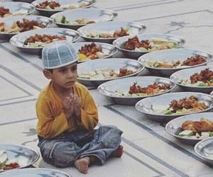 arab, baby, and food image