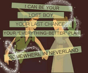 peter pan, neverland, and all time low image