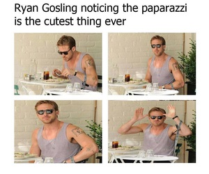 actor, ryan, and sunglasses image